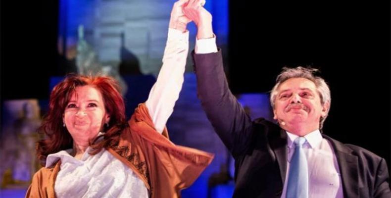 Alberto y Cristina Fernández asumen hoy los más altos cargos en Argentina