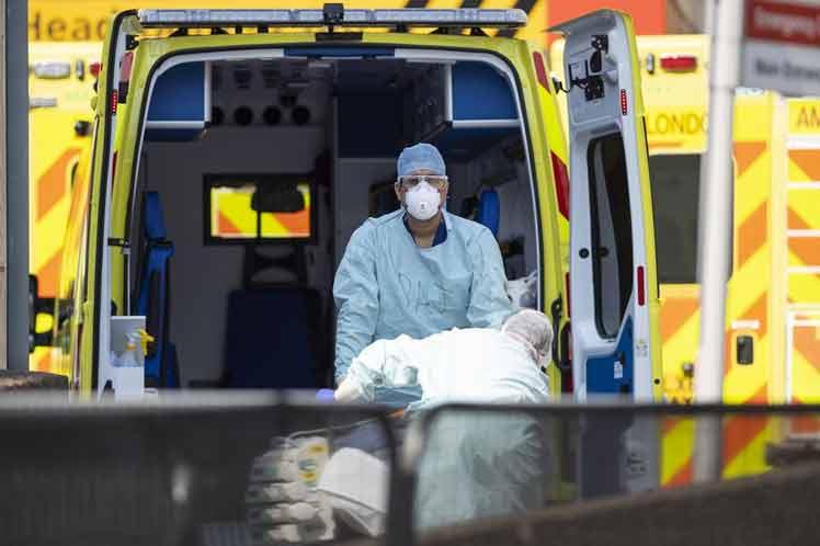 Reino Unido acumula más muertes por Covid-19 que Italia