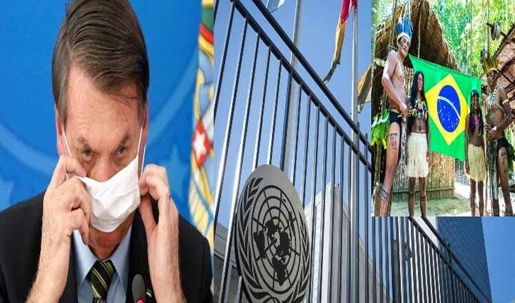 Denuncian a Bolsonaro en ONU por negligencia ante pueblos indígenas