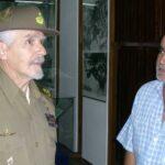 Con Ramiro Valdes foto Cortesia del Museo