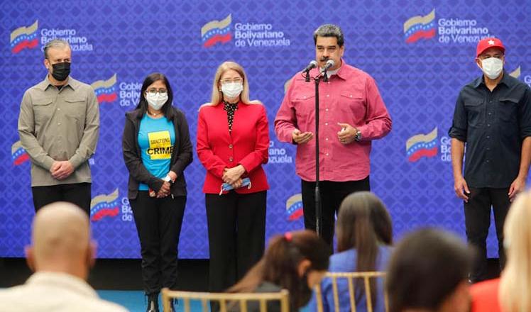 Presidente venezolano exige respeto a la soberanía de Venezuela