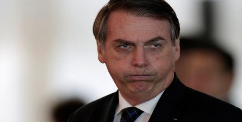 Bolsonaro presidente de Brasil.
