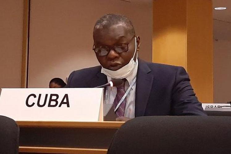 Pedro Luis Pedroso Cuesta -Representante permanente de Cuba en la ONU.
