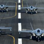 Aviones F-35A de la Fuerza Aérea de EE.UU. U.S. Air Force/R. Nial Bradshaw / Reuters