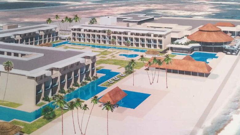 Al 98  por ciento obra civil del hotel Meliá Trinidad