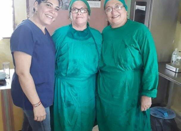 Primero de Mayo, Cabaiguán honra a los trabajadores de la salud este