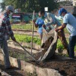 Trabajo voluntario en Sancti Spiritus saluda el 1ro de mayo