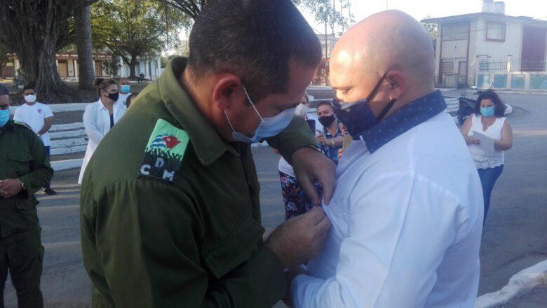 1ro de Mayo: reconocen a trabajadores de la salud (+ Fotos)