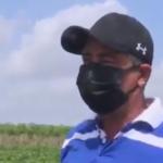 Alexis, el campesino  de Cabaiguán que  celebra el 17 de mayo desde la tierra (+ Video)