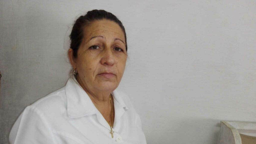 enfermera Idania Rodríguez Pérez