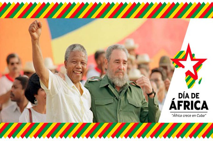 Díaz-Canel: África merece la solidaridad internacional y mucho más que un día