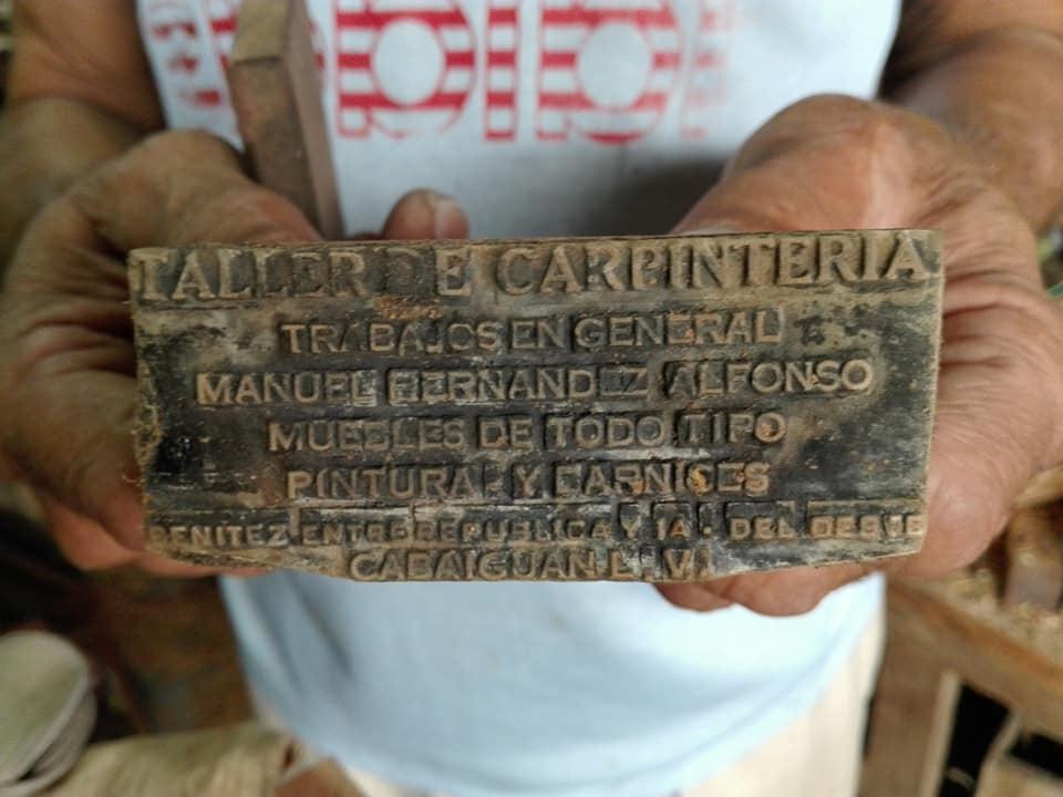 6 carpintero sello