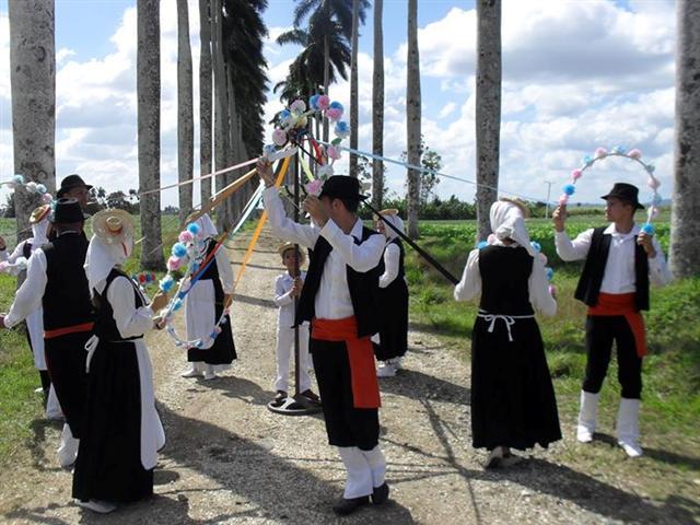La Danza Portadora de Pozas en el museo campesino del municipio