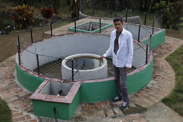 Ingeniero Alexander en el biogás