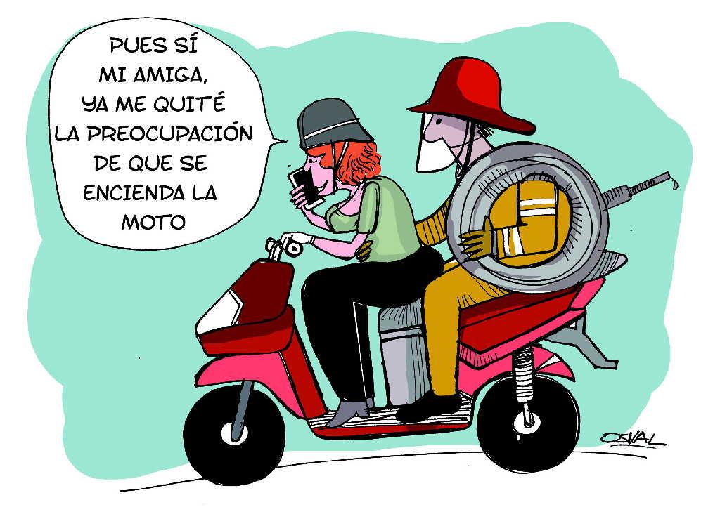Motorinas Ilustración: Osval