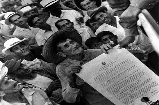 Granja Noel Sancho; preámbulo de la Ley de Reforma Agraria en Cabaiguán